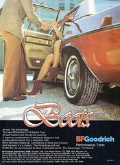 1980 BF Goodrich Boots Tyres HZ Holden Statesman Aussie Original Magazine Advertisement (Darren Marlow) Tags: 1 8 9 19 80 1980 b f bf g goodrich t tyre tread r rubber h z hz holden s statesman c cars cool v vehicle a automobile 80s