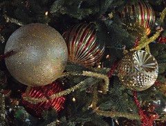 All That Glitters (ACEZandEIGHTZ) Tags: ornaments glass tree xmas christmas nikon d3200 sparkle glitter holiday