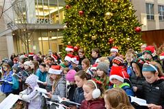 Christmas Caroling at Bridge Park (st.brigid2) Tags: 2470mm dianed4a