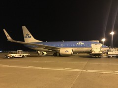 KLM | Boeing 737-7K2 | PH-BGR | Aberdeen International Airport (ABZ/EGPD) (yuyubm) Tags: manufacturers serial number 39446 registration phbgr airline klm location aberdeen international airport abzegpd date 30th november 2018 notes night stop after arriving from amsterdam kl1451 aircraft boeing 7377k2 build 10th august 2011