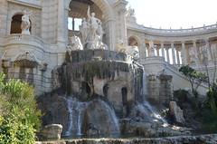 Le Palais Longchamp, 2014 (RarOiseau) Tags: marseille 2014 fontaine musée sculpture histoire monument eau water fountain bouchesdurhône paca parc v1000