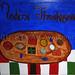 """""""Modern Thanksgiving"""" by La La, acrylic, $40.00"""
