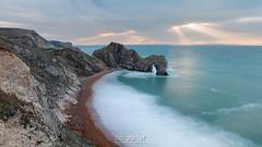 Door beams (www.neilporterphotography.com) Tags: coast coastal doesrt southwestcoastpath durdle door crepuscular rays god