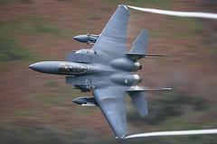 'TRICKY' (benstaceyphotography) Tags: fighter jet lowfly f15e strikeeagle mcdonnelldouglas boeing 492dfs 48thfw raf lakenheath ln