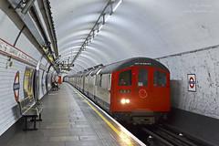 Returning RAT (TimEaster) Tags: london londonunderground underground centralline 1962stock 1962tubestock rat railadhesiontrain hollandpark 1406 red tubetrain