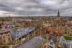 Oxford Panorama (Holfo) Tags: yellow oxford rooftops nikon d750 colour hdr high