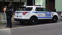 New York Police Department (Emergency_Spotter) Tags: new york police department nypd crc srt esu fpiu ford interceptor utility utilities steelies