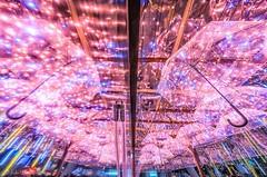 2018新北耶誕城~漫漫傘步~倒影~Reflection (Estrella Chuang 心星) Tags: reflection 倒影 心星 耶誕城 新北 漫漫傘步 夜景 燈 light estrella newtaipei
