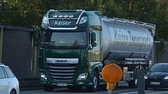 D - Keiser Transporte DAF XF 106 SSC (BonsaiTruck) Tags: kässbohrer keiser daf lkw lastwagen lastzug silozug truck trucks lorry lorries camion caminhoes silo bulk citerne powdertank