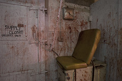 Clinic (ShapesIndustries.com) Tags: hauntedbasement spooky halloween underground fear evil sets scenes stages displays exhibit attraction experience theater dark