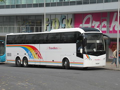 The Travellers Choice 7622UK 20102018 (Rossendalian2013) Tags: jshawcarnforth bus coach manchester volvo b12bt triaxle 7622uk ellawaybjelobabasoulbury el08bus eurolines nationalexpress thetravellerschoice piccadilly railway station railreplacement