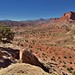 Sometimes When One Looks Back, One Catches an Amazing View (Capitol Reef National Park)