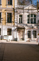 old steet (narrator of the tales) Tags: old moscow portra kodak 35mm