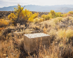 Foundation (dwblakey) Tags: california desert owensvalley landscape outside foundation easternsierra bishop history outdoors mountains inyocounty concrete junk structures unitedstates us