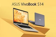 ASUS VivoBook S Thin & Light Laptop, 14-Inch FHD, Intel Core i7-8550U, 8GB RAM, 256GB SSD, GeForce MX150, NanoEdge Display, Backlit Kbd, FP Sensor - S410UN-NS74 (katalaynet) Tags: follow happy me fun photooftheday beautiful love friends
