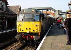 31602 (R~P~M) Tags: train railway diesel locomotive england uk unitedkingdom greatbritain 31 bewdley severnvalleyrailway worcs worcestershire