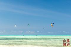 Kite-boarding (DragonSpeed) Tags: 28thkitsilanoscoutgroup 28thvancouverscoutgroup beachlife indianocean jambiani scouts scoutscanada tanzania tanzaniaexpedition2018 venturerscouts venturers zanzestbeachbungalows zanzibar kitesurfing kiteboarding tourism zanzibarsouthcentral tz