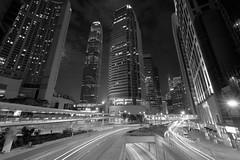 Cosmopolitan (Wilson Au | 一期一会) Tags: hongkong ifc ifcmall night slowshutter longexposure centraldistrict monochrome blackandwhite fujifilm xe2 fujinon xf1024mmf4rois
