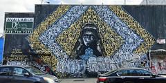 Queen of the Letter by Rocko NYC, Joel Artista & Barron Claiborne (wiredforlego) Tags: graffiti mural streetart urbanart aerosolart publicart bushwick brooklyn newyork nyc rocko joelartista barronclaiborne