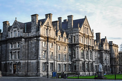 Trinity College (vojtz) Tags: college school dublin ireland