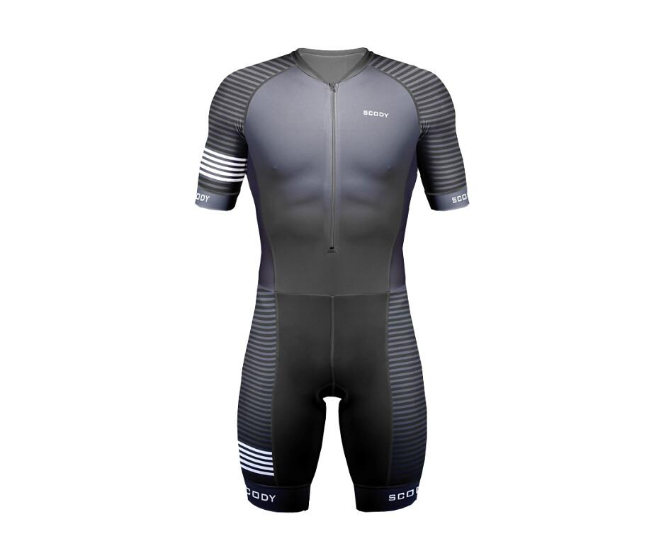 2eec38b409561 ACCENT STRIPE GREY OPTIMISE A.I.R. TRIATHLON SUIT-triathlon gear  (ScodyAUS4101) Tags  triathlon