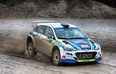 Juraj Šebalj Hyundai I20 R5 hard braking (Dag Kirin) Tags: juraj šebalj hyundai i20 r5 hard braking rally show santa domenica 2018 race day