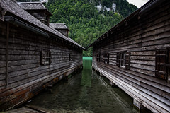 IMG_2702 (Sebastian Seidl) Tags: mountain berg see lake cabin boathouse bootshaus königssee