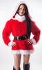 2018-12-03_9-40-01 (ducksworth2) Tags: sweater jumper knit knitwear turtleneck poloneck tiffymohair christmas xmas red mohair