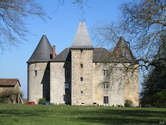 ღ Bree Van de Kamp (Éric…Mon chemin ⊰♥) Tags: champagnaclarivière hautevienne 87 limousin nouvelleaquitaine eu châteaudebrie châteaux castles castelli castele castillos schlösser paysage landscape nature canon canonixius countryside country village city monumentshistoriques ciel cielo sky blue bleu tree trees arbre garden jardins grass tour tower architecture extérieur outdoor photography travel light pierresetroches vestiges stylegothique forteresse mars march spring printemps 2017