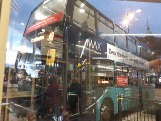 Newly branded Arriva north east 7414 on the 43