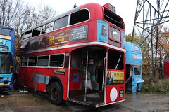 RT4686 (as fake RT8) 01-12-2018 Ensign.2 (routemaster2217) Tags: ensignbus depotvisit bus transport aecregentiii rttype londontransport doubledecker classicbus halfcab openplatform rt4686 nxp971 rt8 fxt183