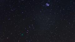 Comet 46p/Wirtanen (reddog1975) Tags: comet 46pwirtanen space night nikon d7100 stars pleiades