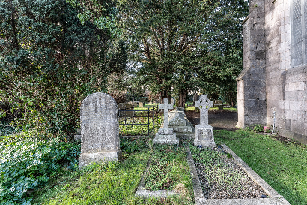 ST COLUMBA'S CHURCH AND GROUNDS IN SWORDS COUNTY DUBLIN [CHURCH ROAD]-148803