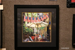"""""""Did you know?"""" (Can Pac Swire) Tags: newyork city usa us america american unitedstates manhattan lower 47 fifth ave avenue salmagundi club art 2018aimg7776 painting didyouknow watercolor kathryn t kathryntcross cross watercolour"""