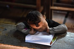 (gabrielebettelli56) Tags: asia myanmar mandalay student notebook sleeping nikon travel viaggi