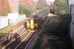 150233, Paignton, 21/12/18 (aecregent) Tags: paignton 211218 150class class150 150233 gwr greatwesternrailway