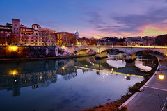 Blue Rome (Stefano Gabriele Vallero) Tags: roma sanpietro fujifilm italy xt2 bluehour orablu sunset tramonto