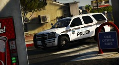 LSPD K-9 01 (Vision7124) Tags: gtav video game lspd los santos police departmnet vehicle car chevrolet chevy tahoe k9 grand theft auto