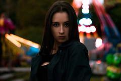 2016.09.19 (Vaičiulisfoto) Tags: portrait old fashion photo women model nikon 50mm rolley coasters lights lighting lithuania outside retouch style autumn evening posing composition