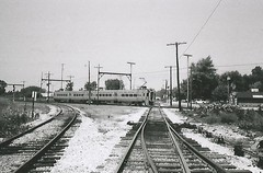 From Illinois into Indiana (trainphotoz) Tags: nictd northernindianacommutertransitdistrict css southshoreline chicagosouthshoresouthbend chicagosouthshoresouthbendrailroad interurban electrictrain electricrailroad electricrailway statelinecrossing