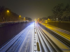fast lane (koaxial) Tags: p1097895ap1097908av2stackldr0000a koaxial stack hugin street city lights lichter nacht night snow cold weather winter 2019 january urban illuminated beleuchtet