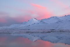 Evening light in Fáskrúðsfjörður (*Jonina*) Tags: iceland ísland faskrudsfjordur fáskrúðsfjörður reflection speglun evening síðdegi winter vetur snow snjór mountains fjöll sandfell jónínaguðrúnóskarsdóttir 25faves 500views 50faves