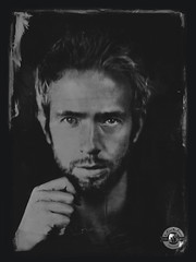 Nicorock (LA CAGE AUX FAUVES) Tags: vintage oldpict ambrotype ferrotype portrait nb collodion