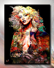 JJ (andrzejslupsk) Tags: woman portrait andrzej słupsk slupsk face art photo manipulation jj model colorful