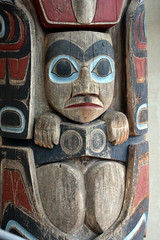 WEST COAST NATIVE ART, CARVED WOOD TOTEMS, UBC, VANCOUVER. BC. (vermillion$baby) Tags: nativeart art carvng color firstnations red totem westcoast wood artsculpture native pacificnorthwest artofnorthamerica artofnativenorthamerica museum carving sculpture woodcarving museums artofthenative nativeamerican indian gallery vivid aborigine