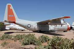 57-0493   Lockheed C-130D Hercules   NY ANG (cv880m) Tags: pima tucson arizona museum airspace aircraft aviation military airplane 70493 570493 lockheed c130 c130b hercules skis newyork ang airnationalguard propliner