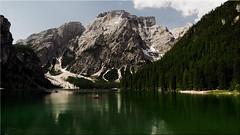 The Lake Prags in South Tyrol (Ostseetroll) Tags: pragserwildsee geo:lat=4669844913 geo:lon=1208566742 geotagged ita italien prags südtirol southtyrol altoadige alpen alps lakeprags lakebraies lagodibraies olympus em5markii
