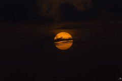 The moon (alain_did) Tags: lune mystère nature naturallight naturepics night nuages noir soir