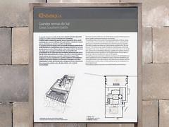 Yacimiento. Grandes Termas del Sur (Conimbriga, Portugal) (Juan Alcor) Tags: yacimiento termas sur placa sul ruinas romanas romano portugal conimbriga