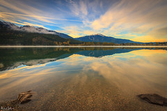 Green Lake (michaelsabijon) Tags: lakes landscape reflection whistler beautfulbritishcolumbia canoncanada eos7d nature